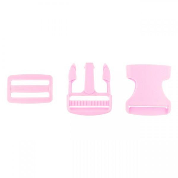 Taschenverschluss - 3,8cm - Rosa