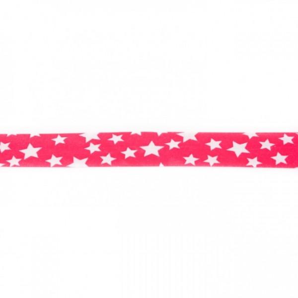 Einfassband Stern Pink
