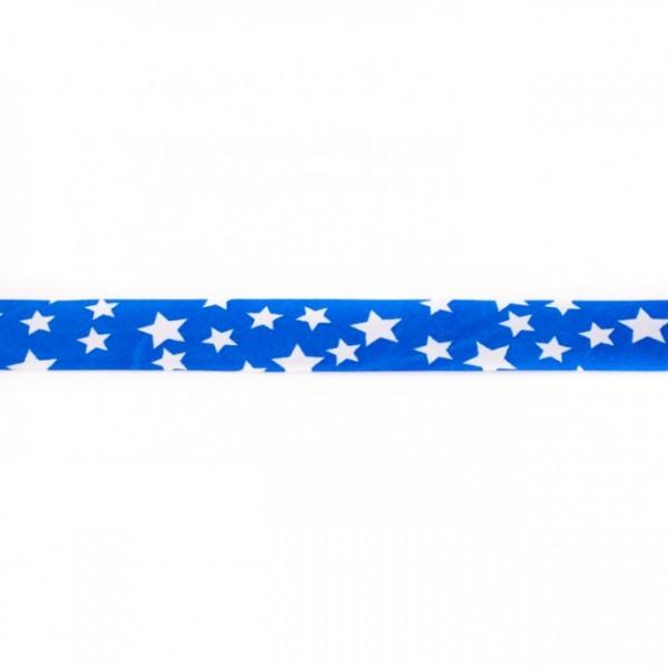 Einfassband Stern Kobalt