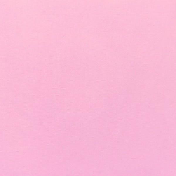 Baumwollpopeline Uni Rosa