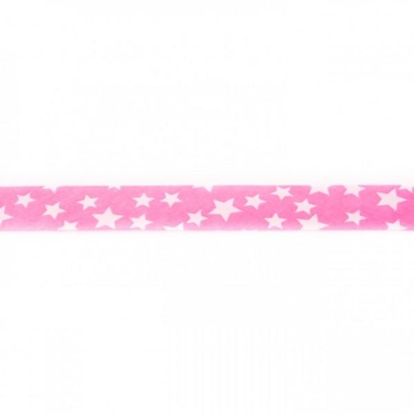 Einfassband Stern Rosa