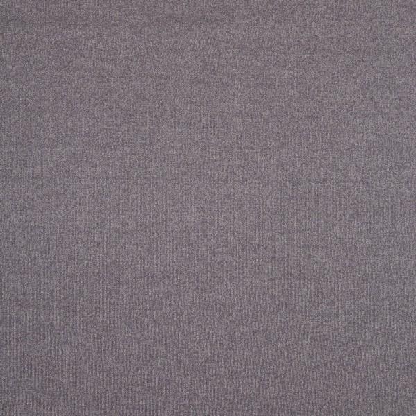 Baumwoll Strickstoff, meliert, dunkelgrau