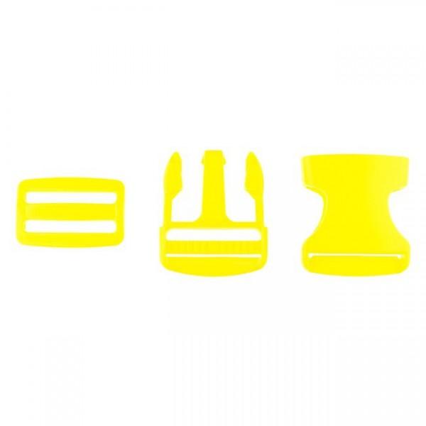Taschenverschluss - 3,8cm - Gelb