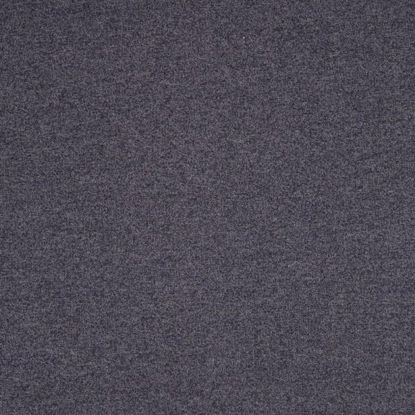 Baumwoll Strickstoff, meliert, dunkelblau