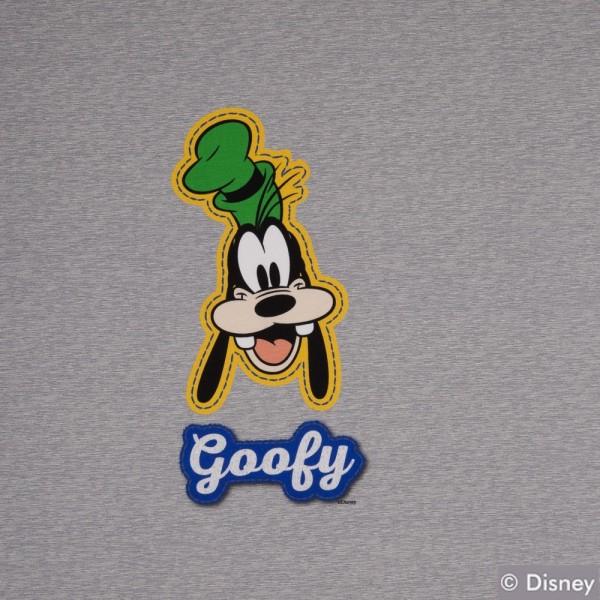 Jersey Disney Panel Goofy, grau meliert