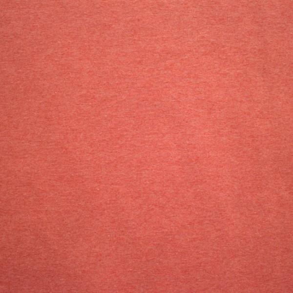 Jersey uni meliert - rot