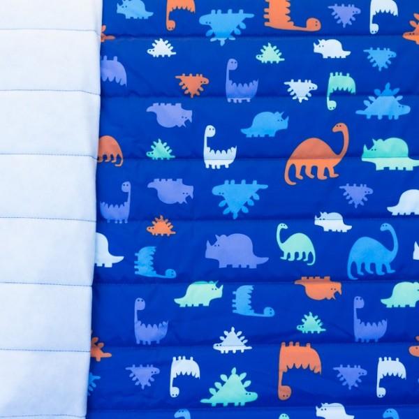 Wasserfest Nylon Bedruckt Dinosaurier Dunkel Blau