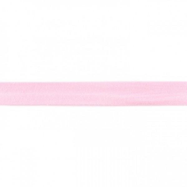Baumwolljersey Schrägband Rosa
