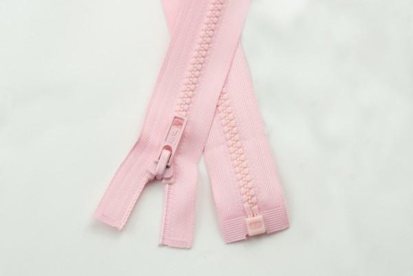 Reissverschlussteilbar, 6mm, rosa