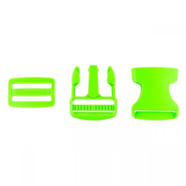 Taschenverschluss - 3,8cm - Grün