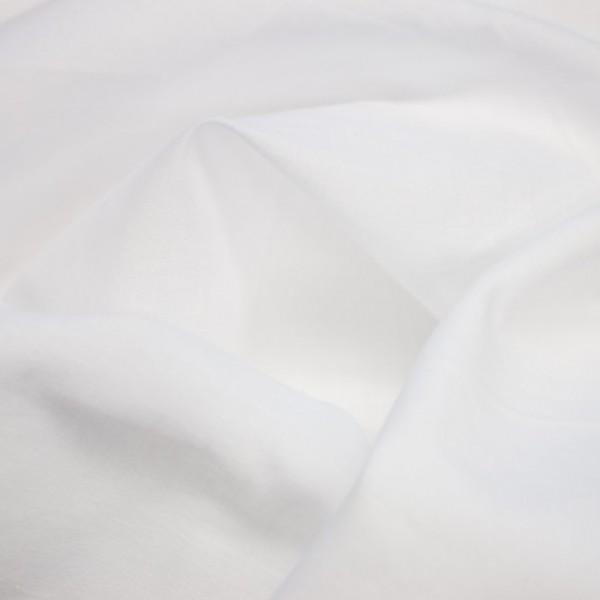 Baumwollstoff Batiste - Weiß