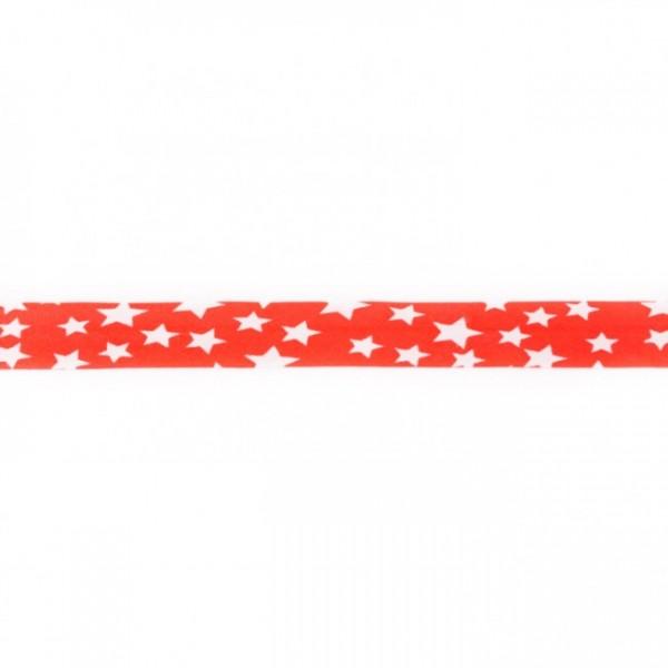 Einfassband Stern Rot