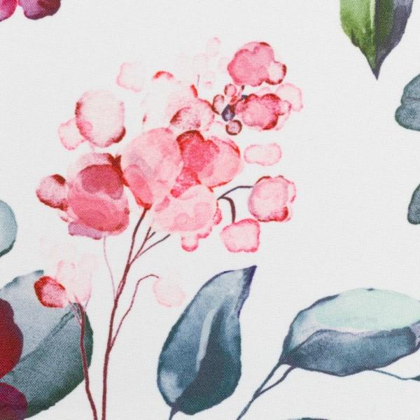 Softshell Blüten, weiß